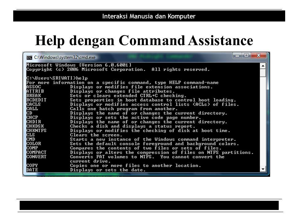 Help dengan Command Assistance