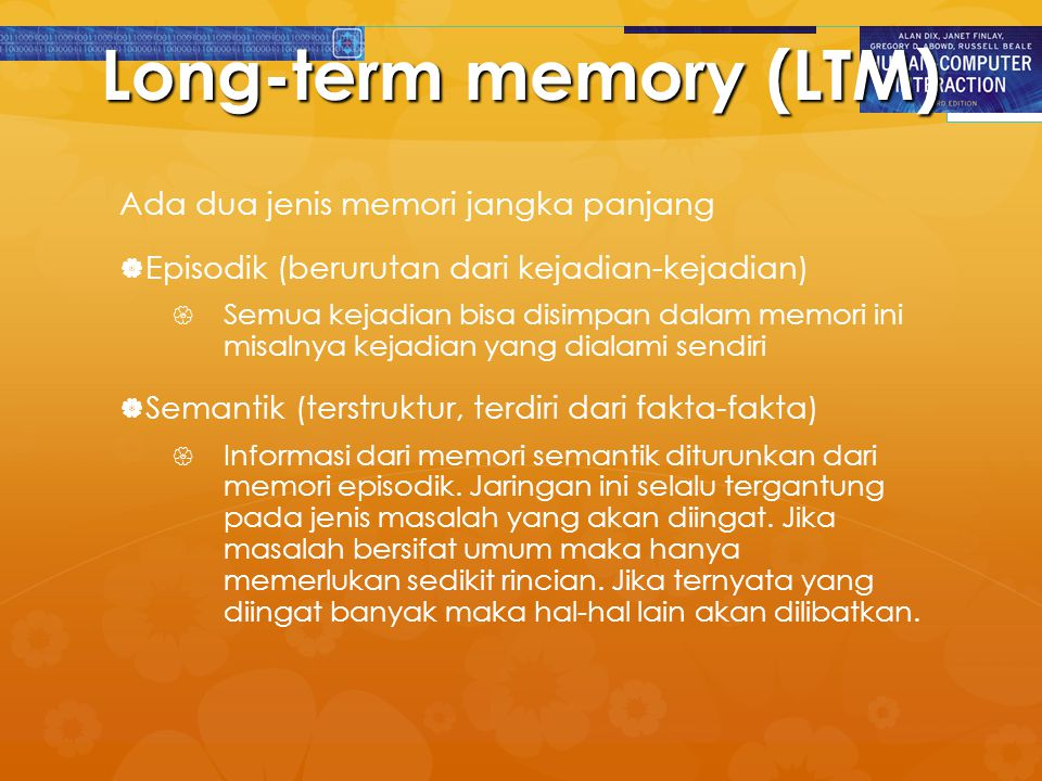 Long-term memory (LTM)