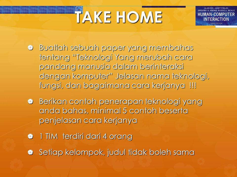 TAKE HOME