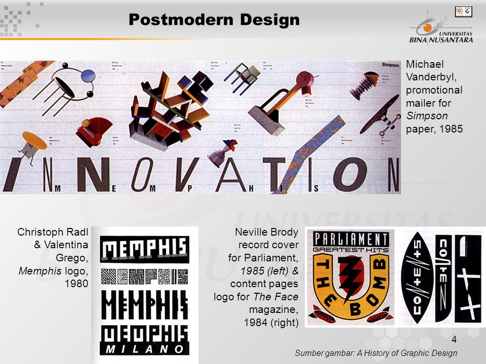 Postmodern Design Michael Vanderbyl, promotional mailer for Simpson