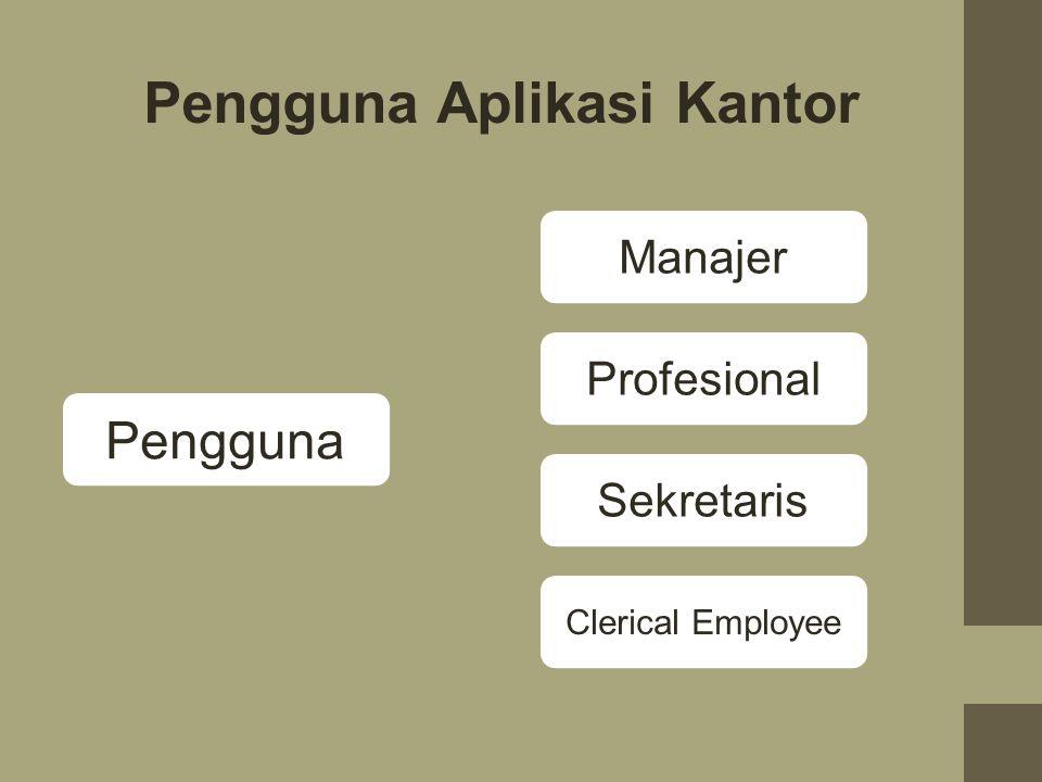 Pengguna Aplikasi Kantor
