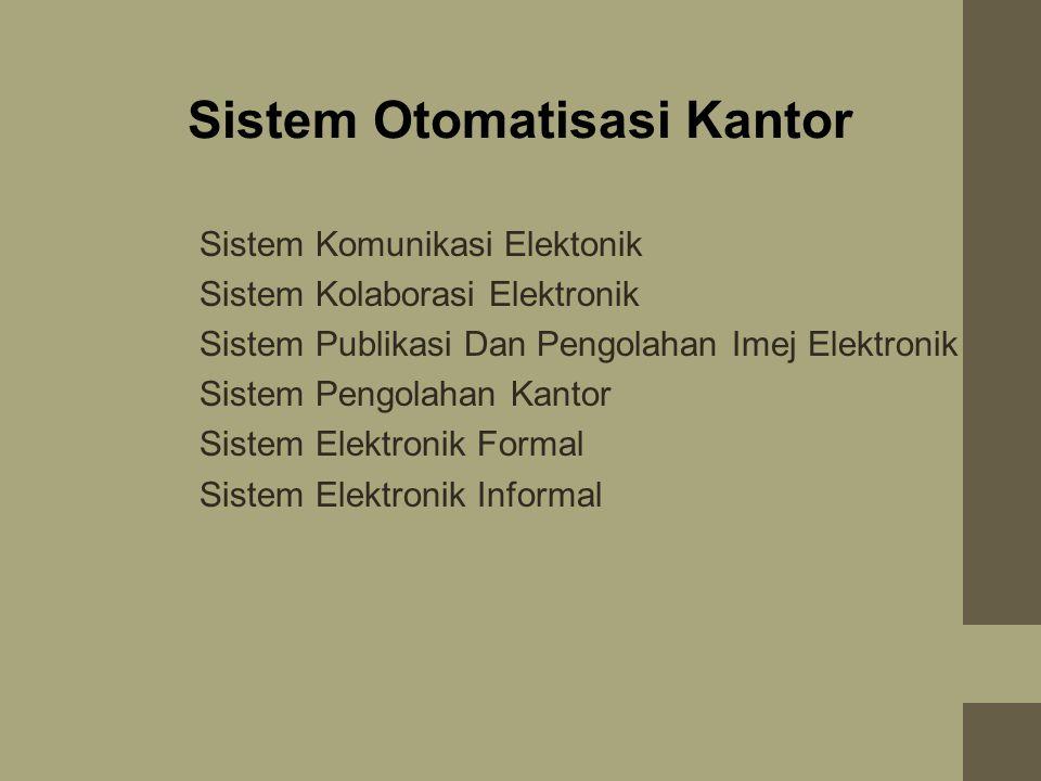 Sistem Otomatisasi Kantor