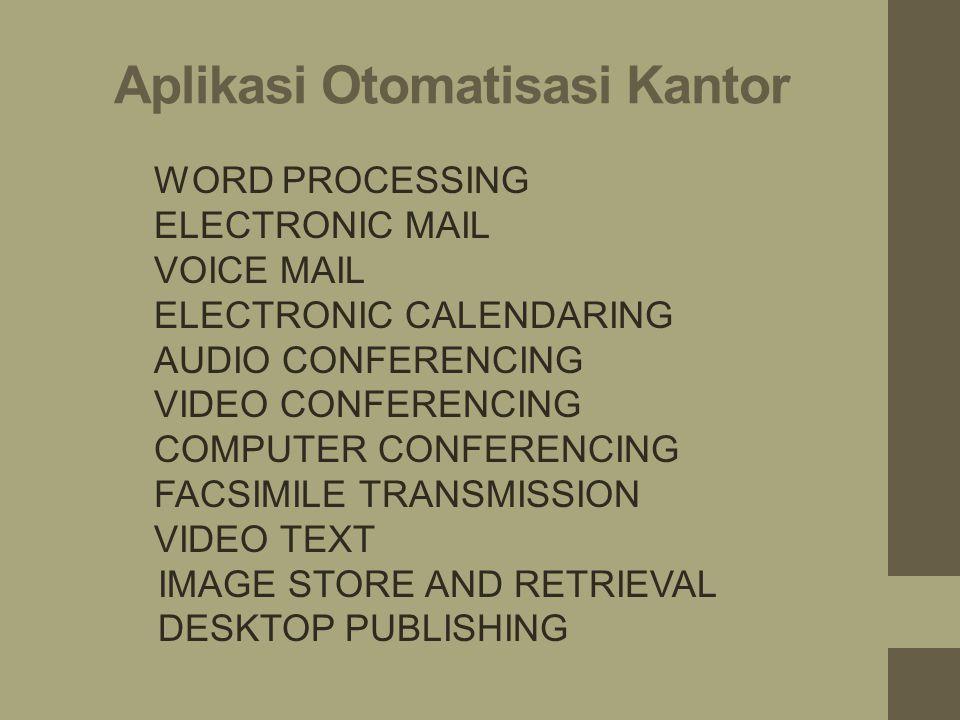 Aplikasi Otomatisasi Kantor