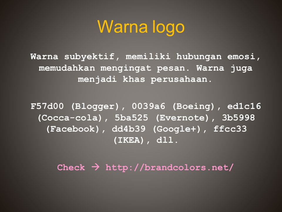 Warna logo