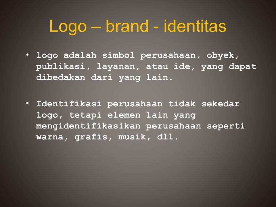 Logo – brand - identitas