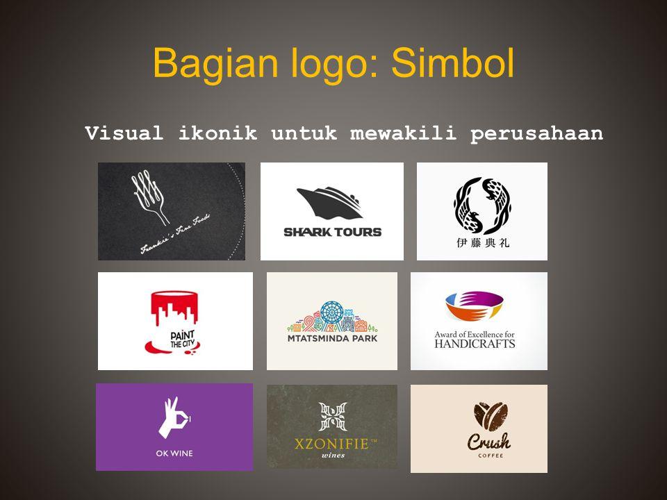 Visual ikonik untuk mewakili perusahaan