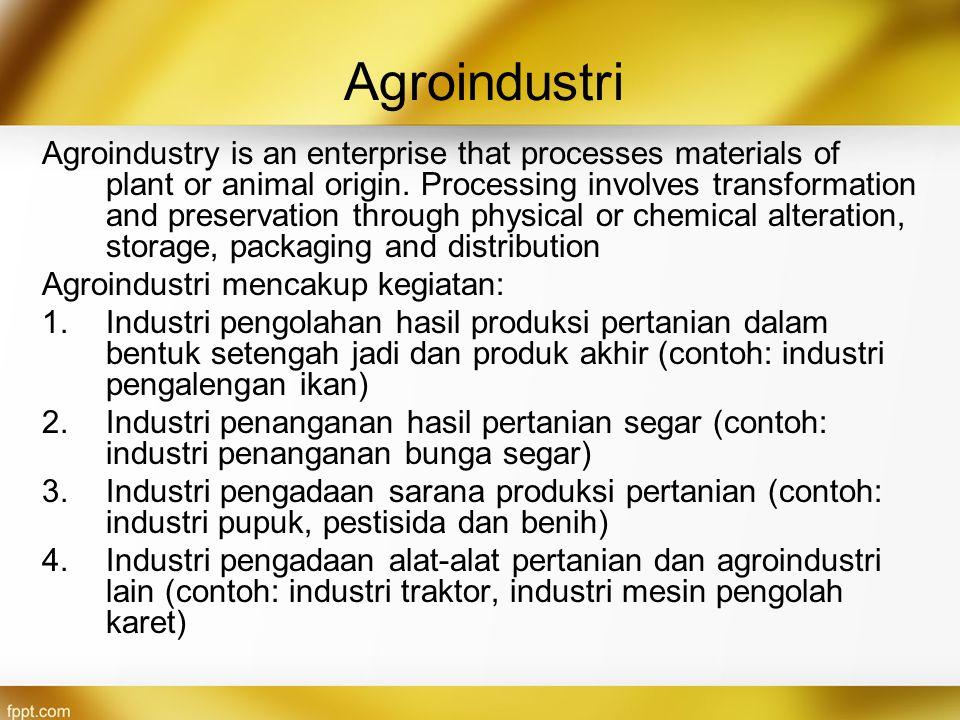 Agroindustri