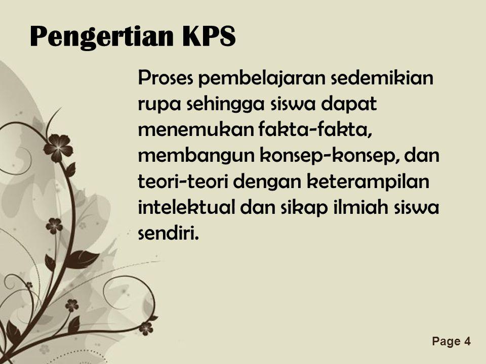 Pengertian KPS