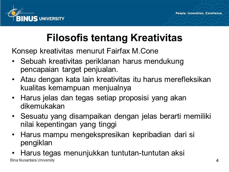 Filosofis tentang Kreativitas