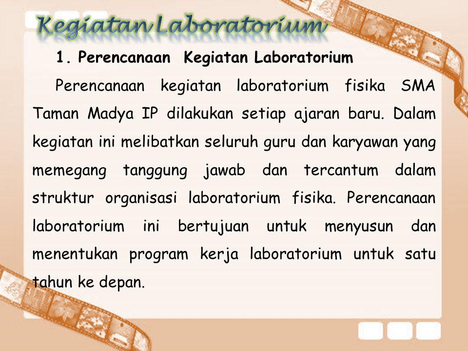 Kegiatan Laboratorium