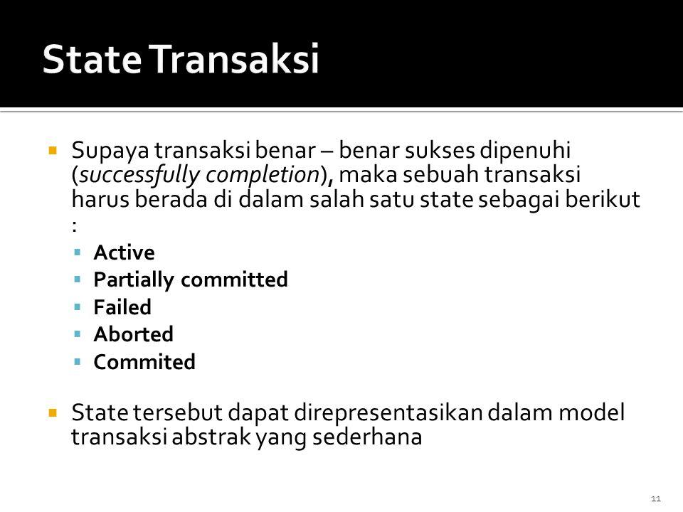 State Transaksi