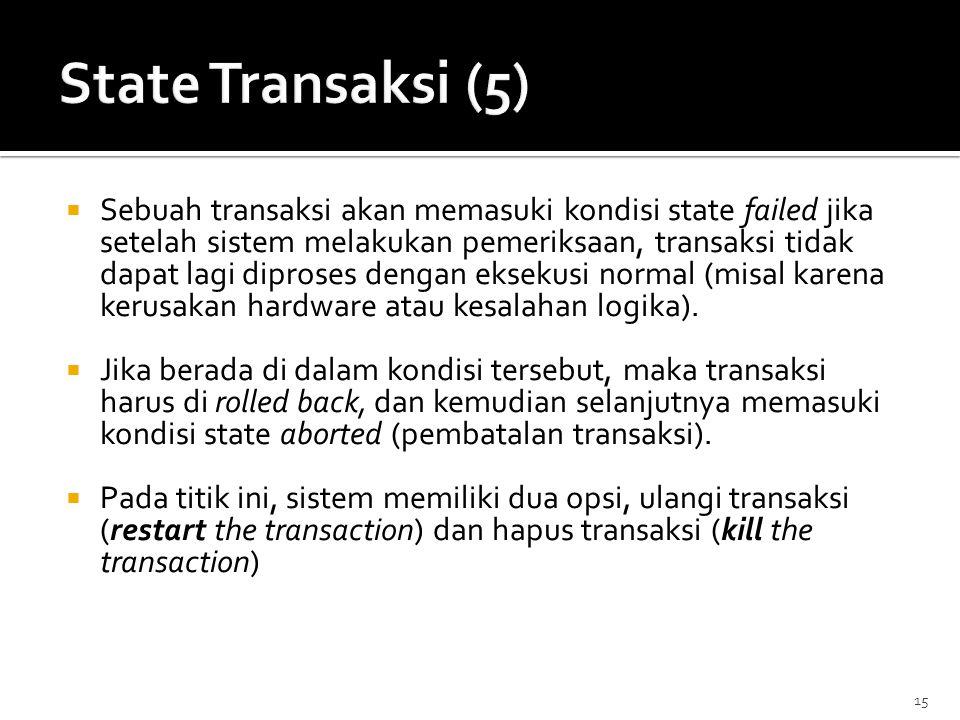 State Transaksi (5)