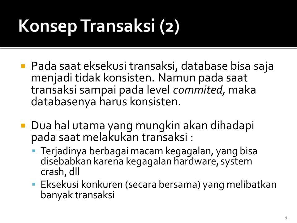 Konsep Transaksi (2)