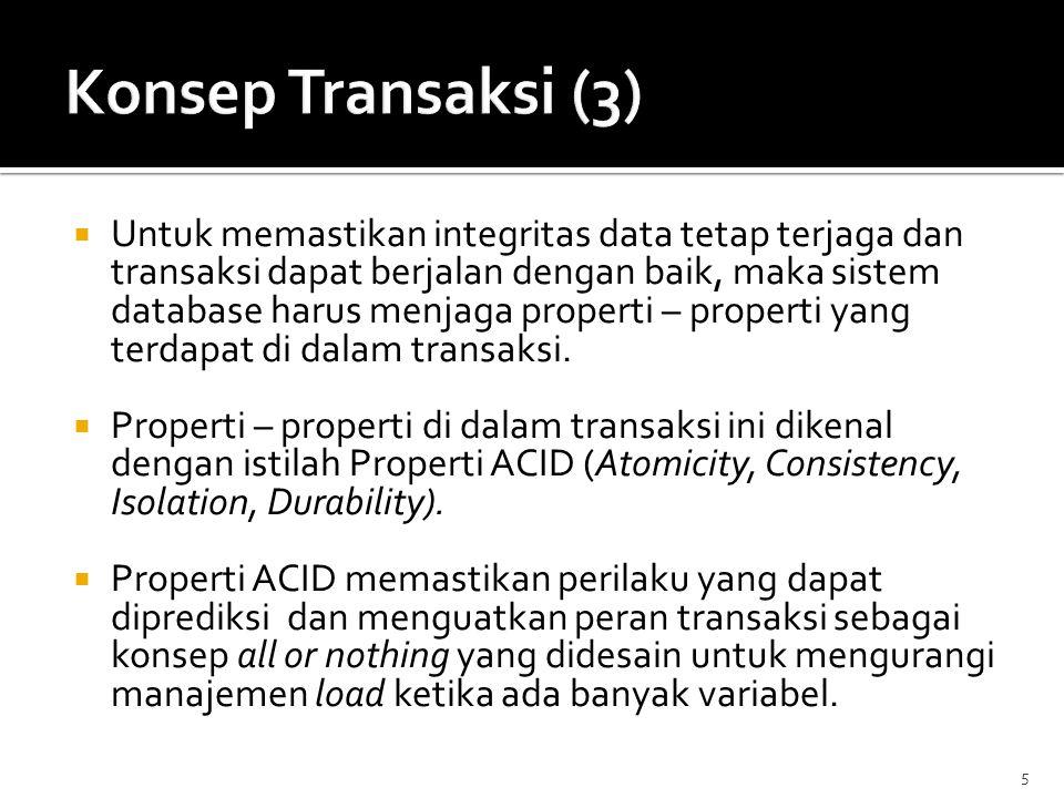 Konsep Transaksi (3)