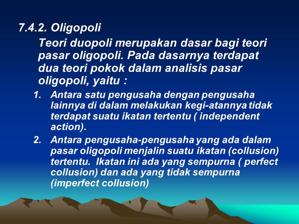 7.4.2. Oligopoli