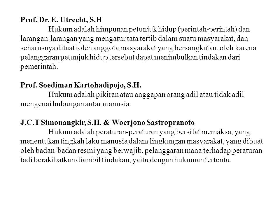 Prof. Soediman Kartohadipojo, S.H.