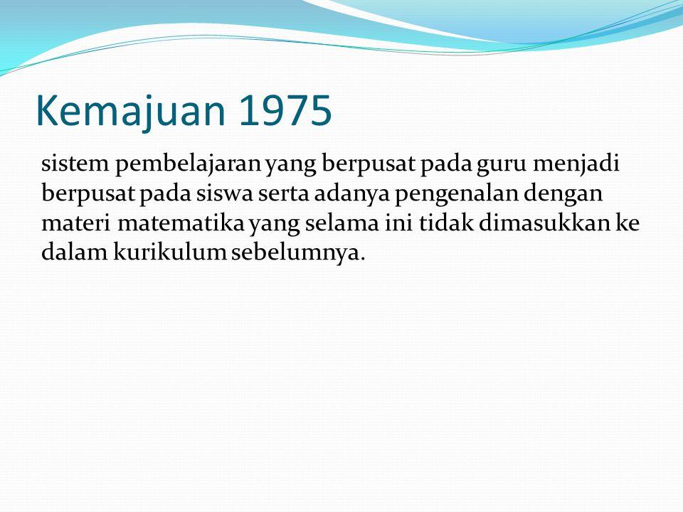 Kemajuan 1975