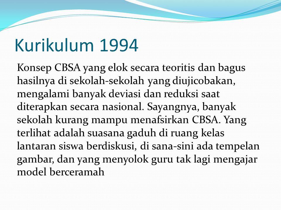 Kurikulum 1994