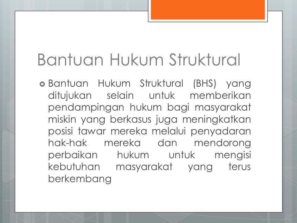 Bantuan Hukum Struktural