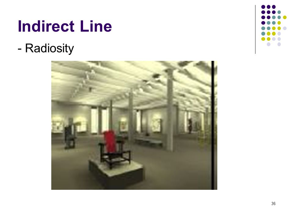 Indirect Line - Radiosity