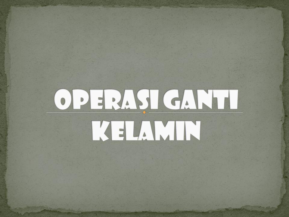 Operasi Ganti Kelamin