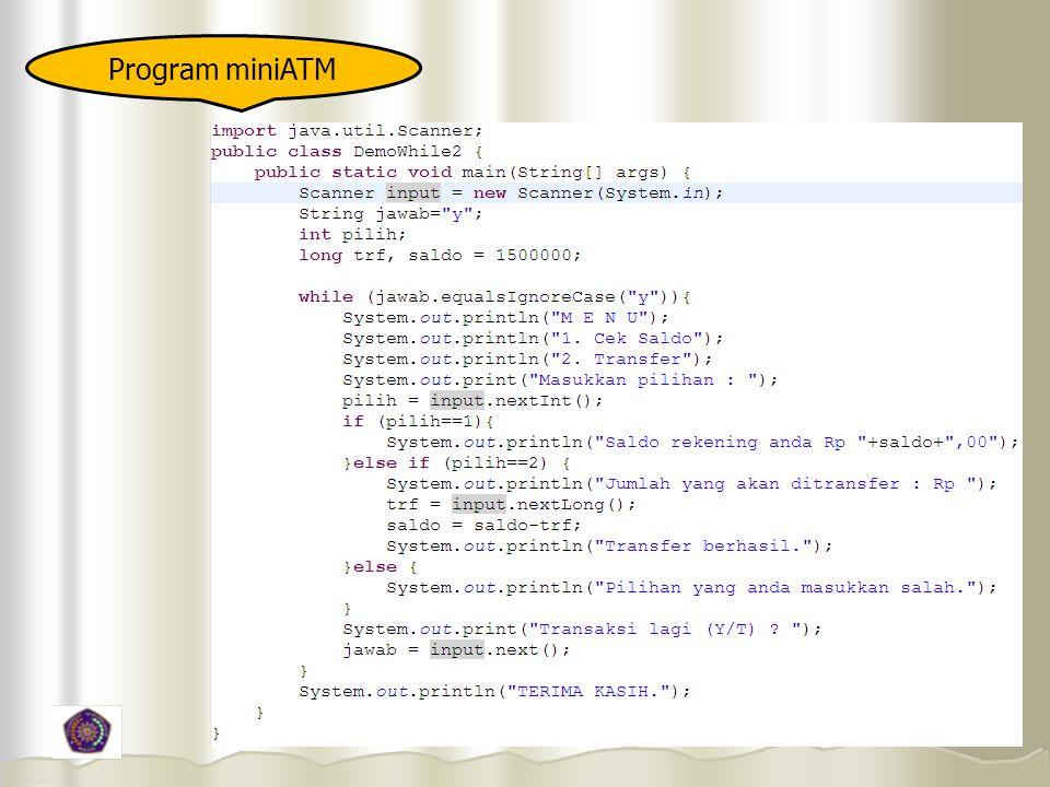 Program miniATM