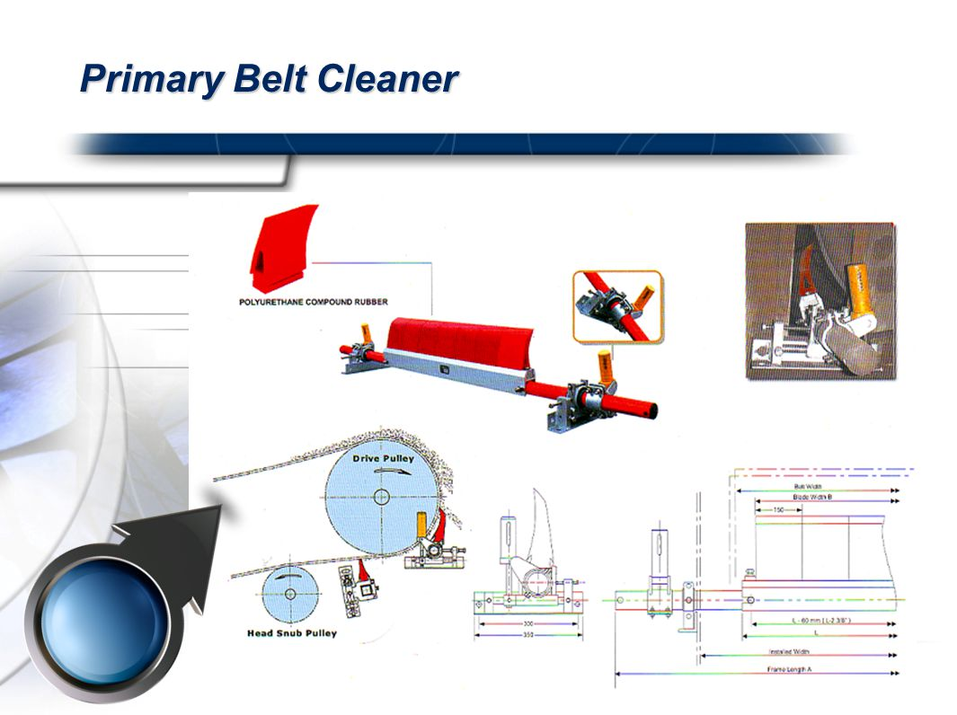 Primary Belt Cleaner