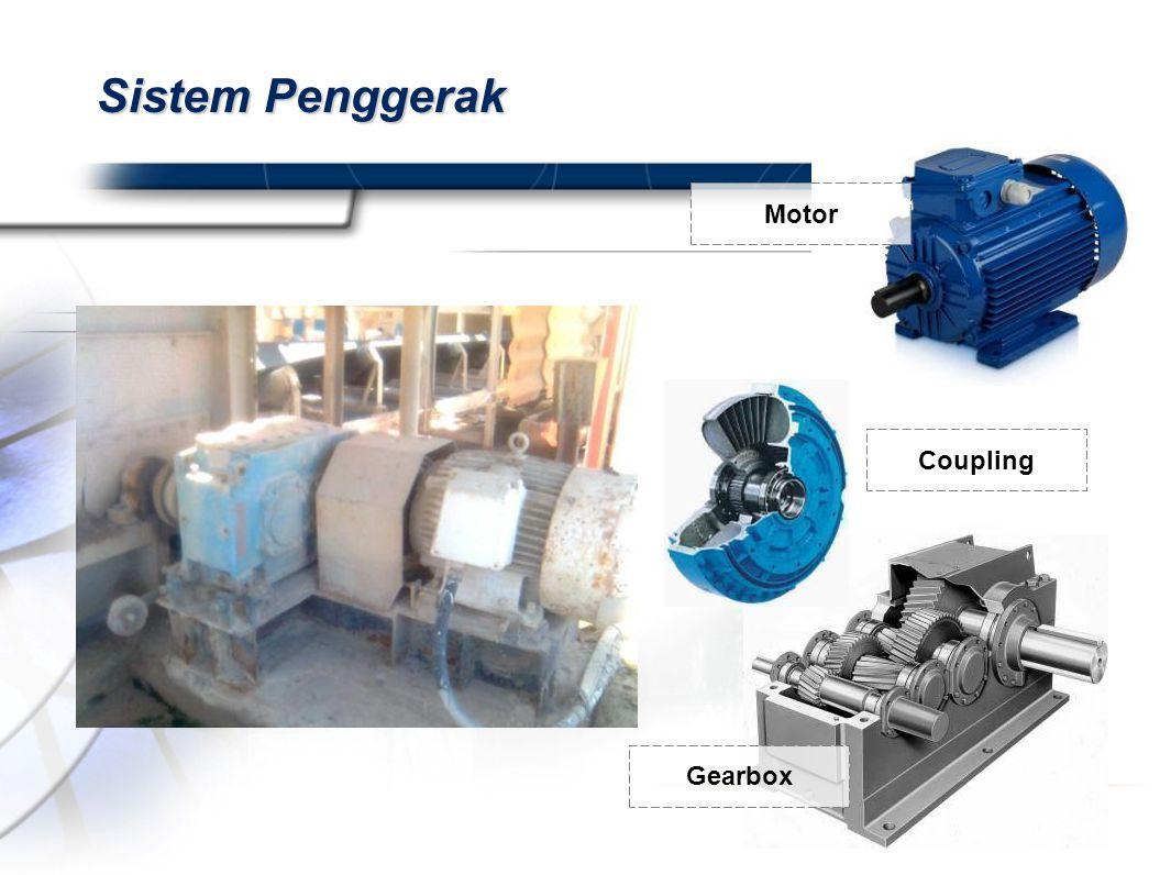 Sistem Penggerak Motor Coupling Gearbox