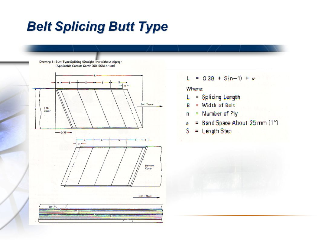 Belt Splicing Butt Type