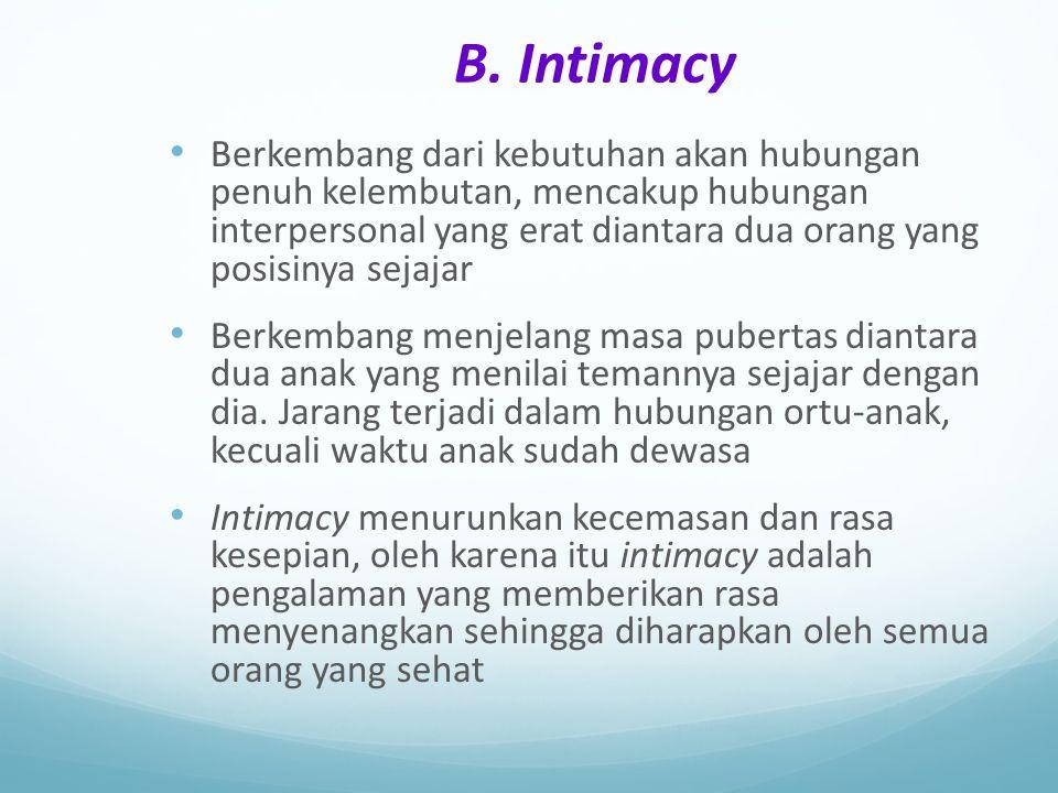 B. Intimacy