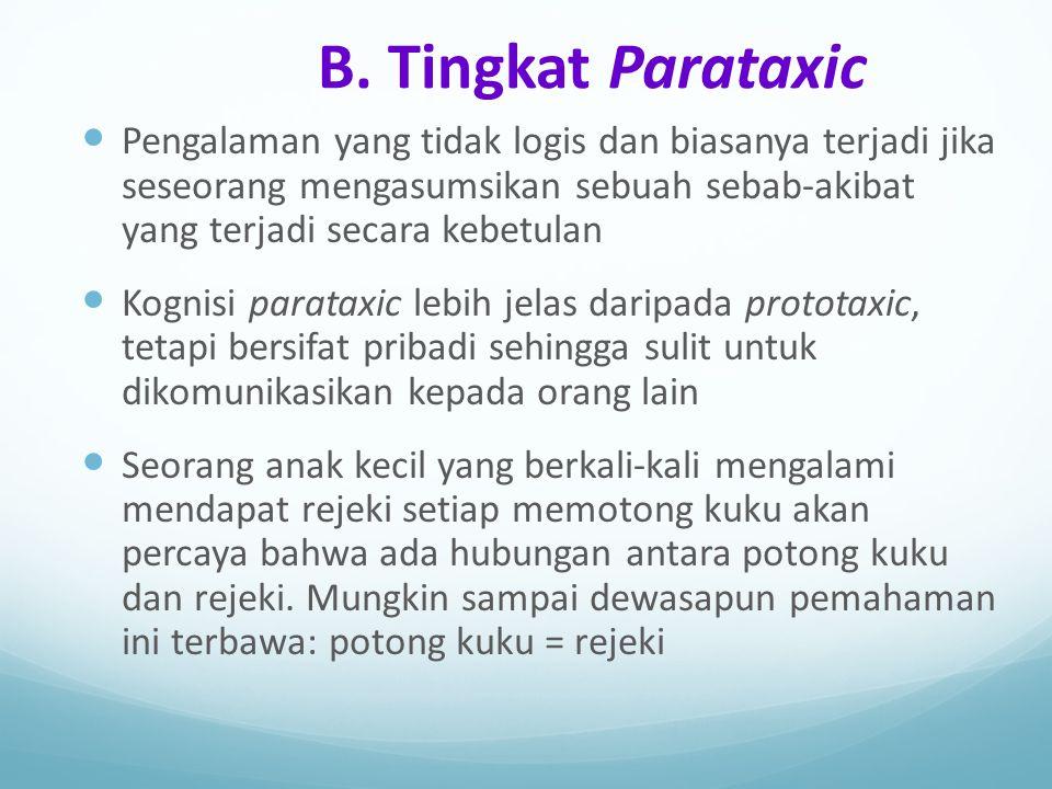 B. Tingkat Parataxic