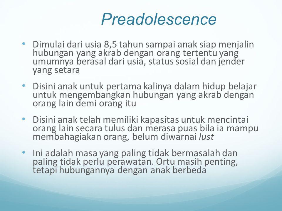Preadolescence