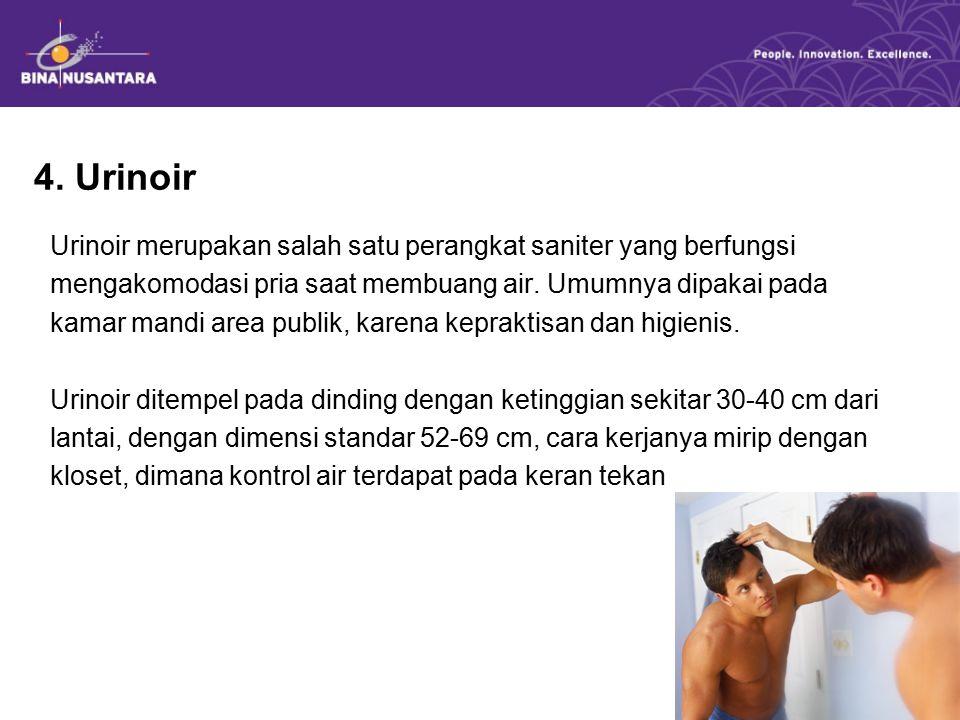 4. Urinoir
