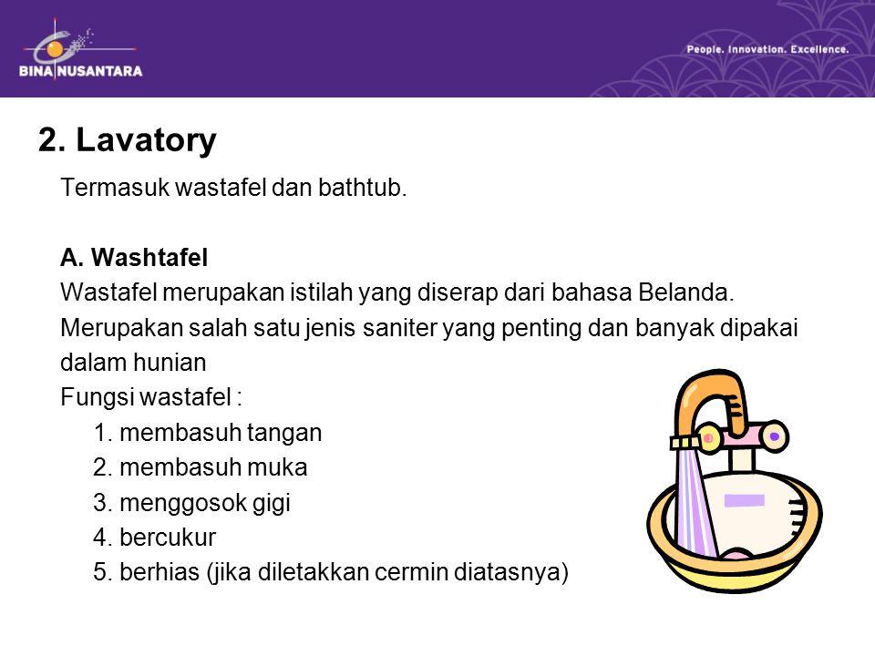 2. Lavatory