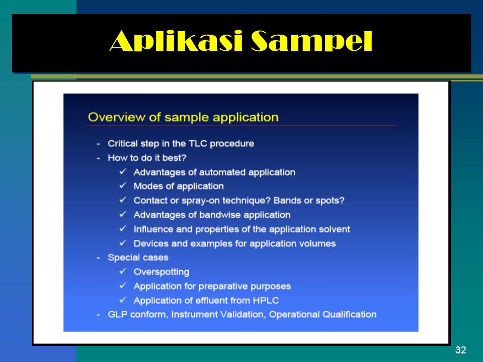 Aplikasi Sampel