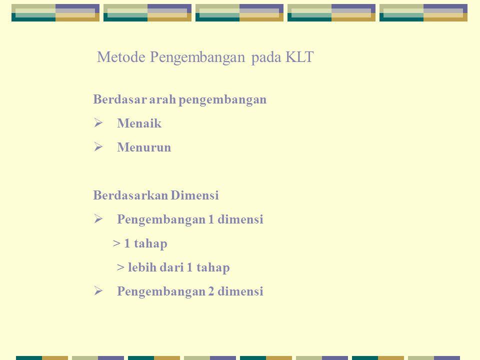 Metode Pengembangan pada KLT