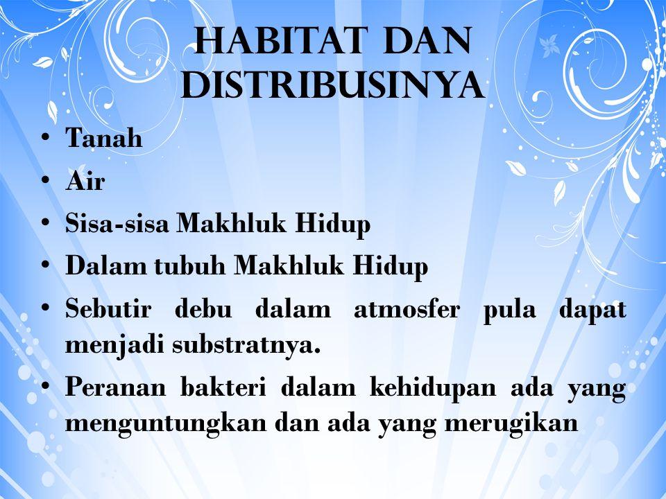 Habitat dan Distribusinya