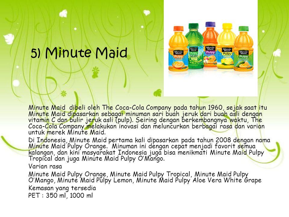 5) Minute Maid