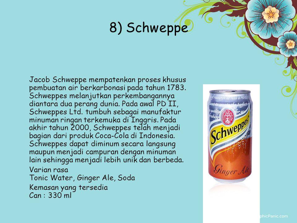 8) Schweppe