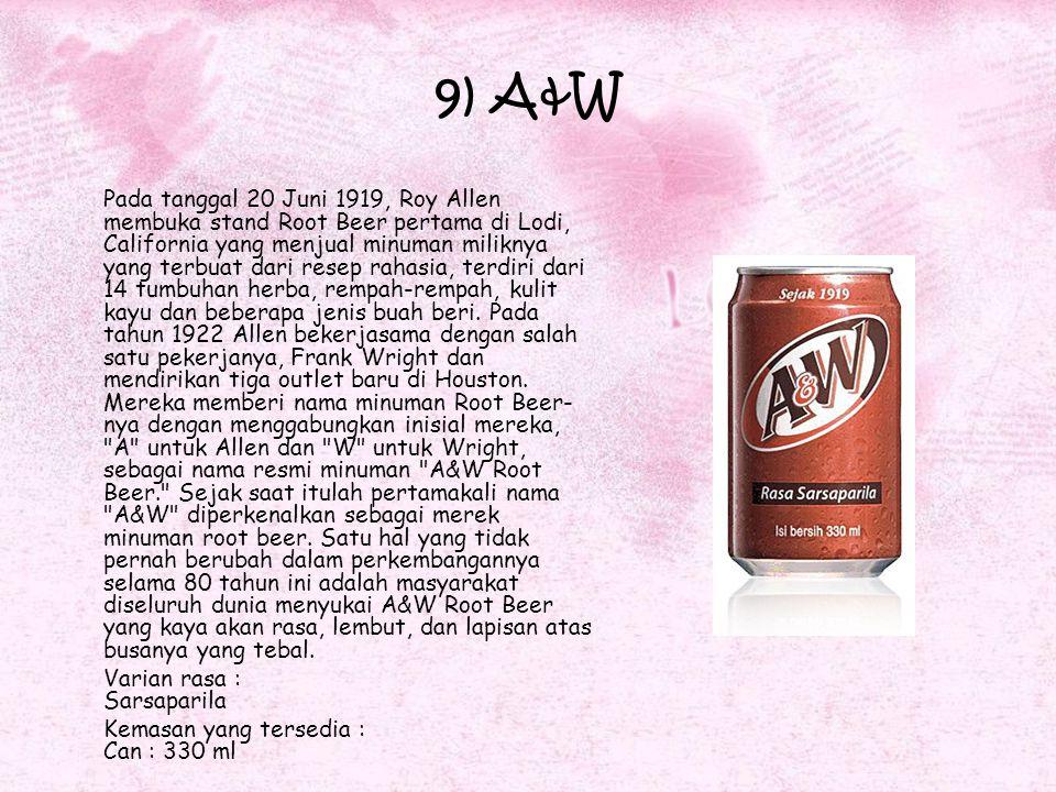 9) A&W