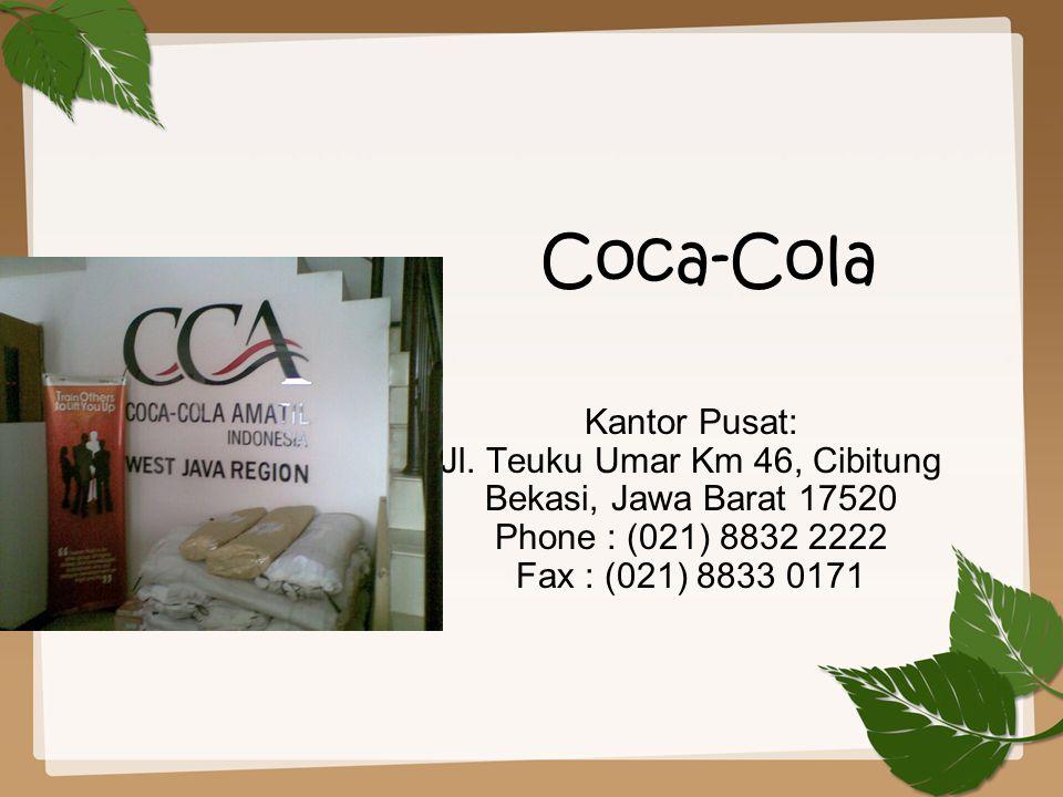 Coca-Cola Kantor Pusat: Jl.