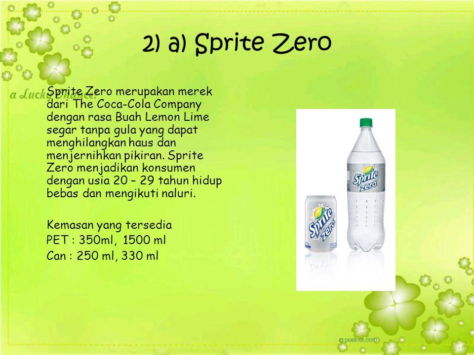 2) a) Sprite Zero