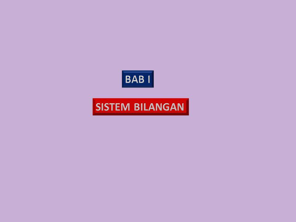 BAB I SISTEM BILANGAN