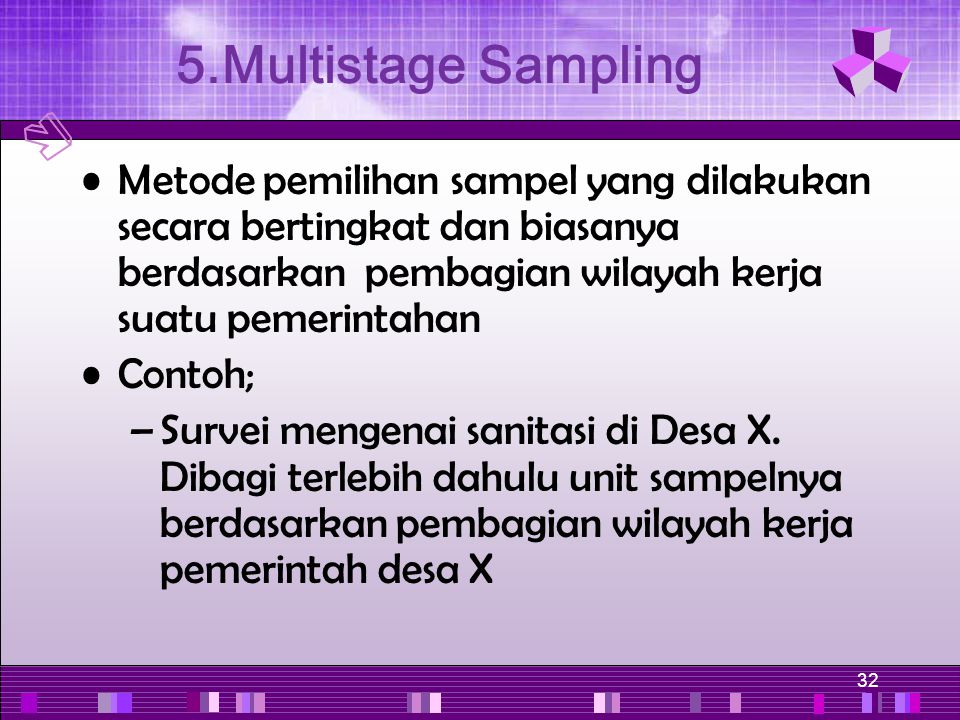 5.Multistage Sampling