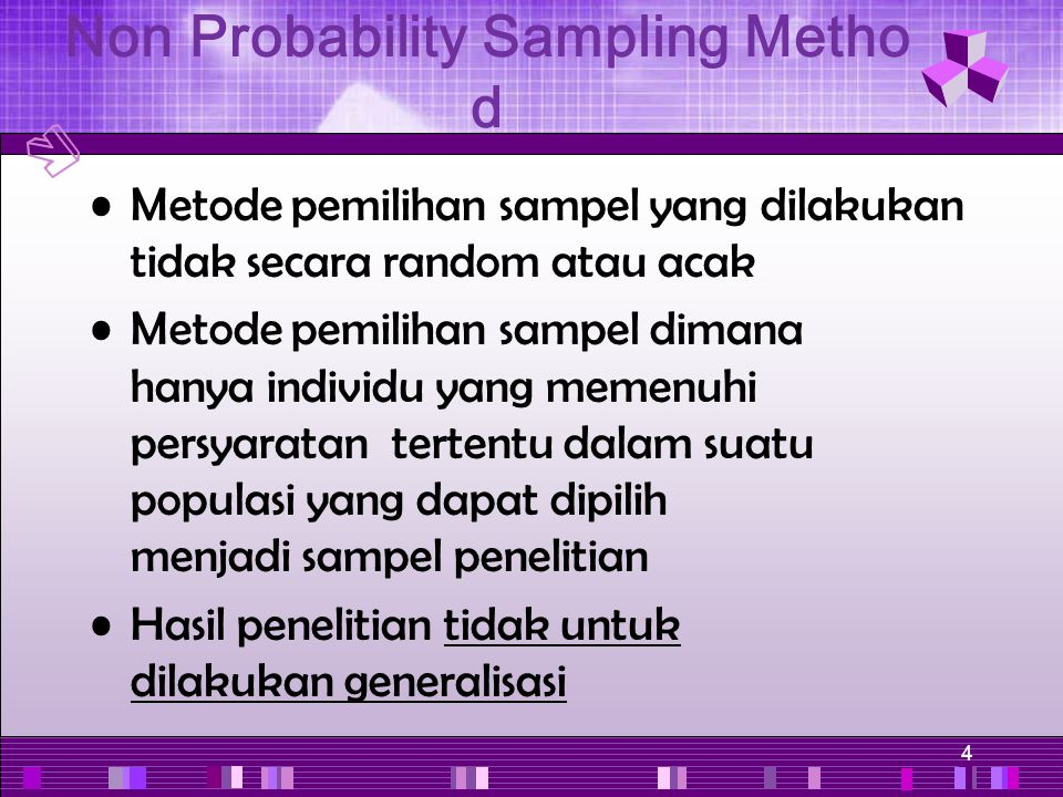 Non Probability Sampling Method