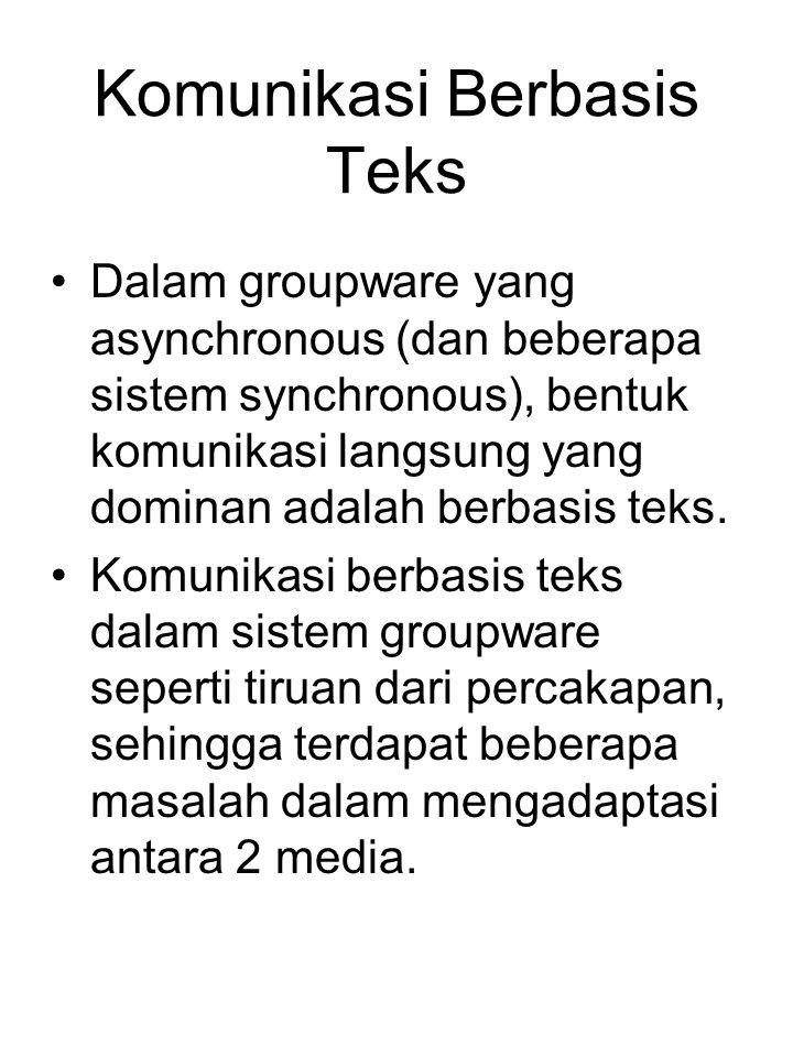 Komunikasi Berbasis Teks