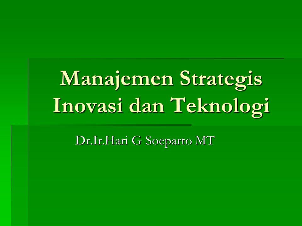 Manajemen Strategis Inovasi dan Teknologi