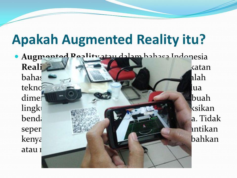 Apakah Augmented Reality itu