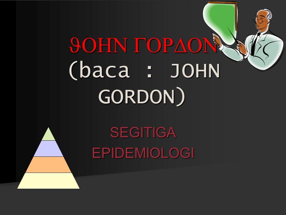 JOHN GORDON (baca : JOHN GORDON)