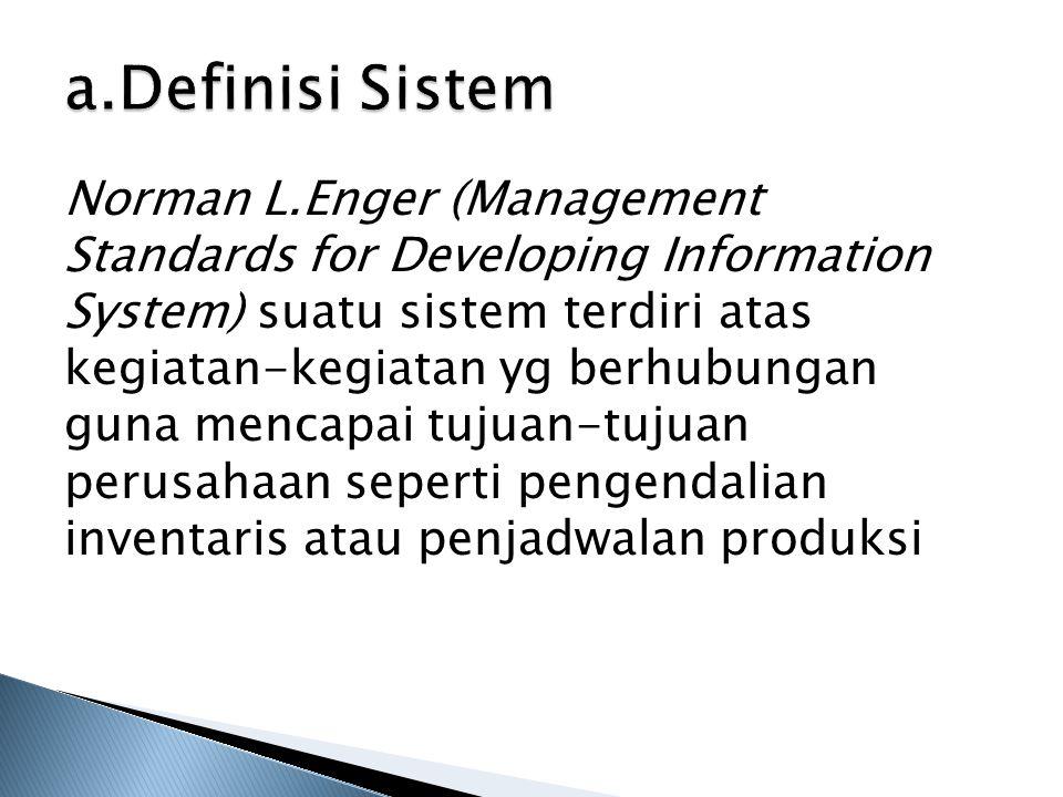 a.Definisi Sistem